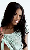 See beautiful Fierra Cruz in casual clothing