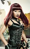 Nicki Minaj grew up in Queens, New York. She is of mixed Afro-Trinidadian and Indo-Trinidadian.