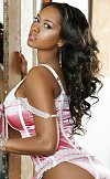 Esther Baxter is well known for her voluptuous figure with a measurement of 34DDD-24-40.